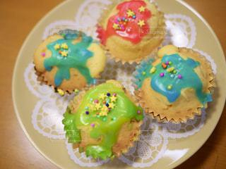 カラフルカップケーキの写真・画像素材[3197733]