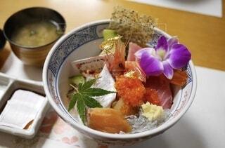 絶品海鮮丼の写真・画像素材[3899836]