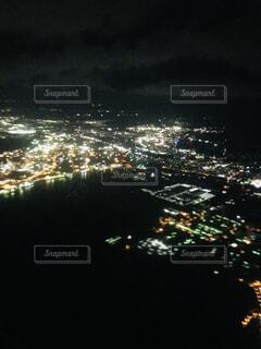 飛行機からの眺めの写真・画像素材[4066117]