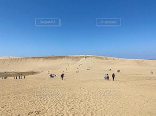 鳥取砂丘の写真・画像素材[3155256]