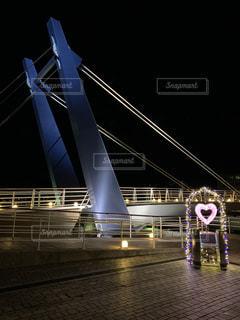 夜,橋,夜景