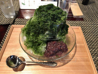 食べ物,食事,抹茶,皿,かき氷