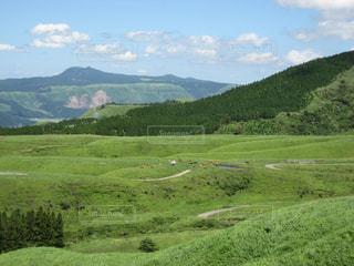 自然,風景,緑,草原,山,草,大地,高原