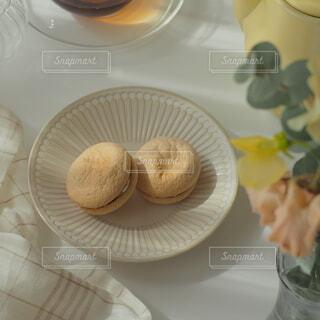 春のおうちカフェの写真・画像素材[4307422]