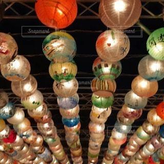 夜,提灯,装飾,飾り
