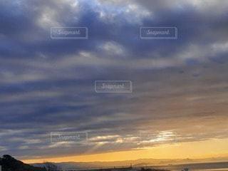 空,雲,日の出