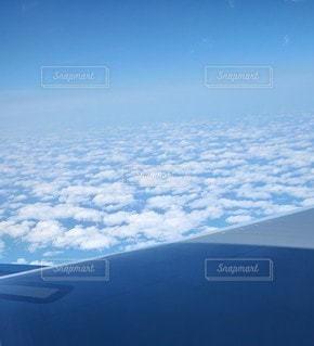 風景,空,雲,晴れ,青,飛行機,青い空,景色,空中,さわやか,フライト,インスタ映え