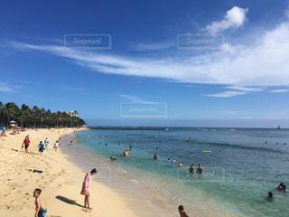 海,海外,ビーチ,観光,浜辺,ハワイ,ワイキキ,海外旅行