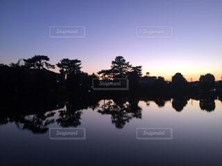 夕暮れの風景の写真・画像素材[3211796]