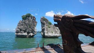 自然,海,空,屋外,船,水面,世界遺産,岩,旅行,ベトナム,神秘,トラベル,Travel,ハロン湾