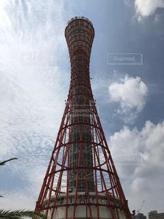 風景,タワー,神戸