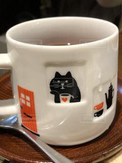 癒しコーヒーカップの写真・画像素材[3162992]