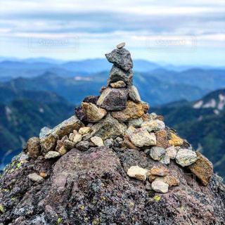 自然,風景,空,屋外,山,登山,岩,山頂,石,眺め