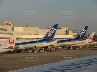 空,屋外,飛行機,空港,ANA,滑走路,福岡,航空機,福岡空港,旅客機,日本航空,航空,車両,ジェット,787