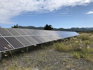 屋外,景観,ソーラーパネル,太陽光発電,太陽電池セル,太陽エネルギー