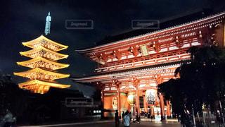 風景,空,建物,屋外,東京,浅草,浅草寺,五重塔,日本,寺,宝蔵門,大提灯