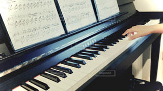 ピアノの鍵盤の写真・画像素材[3211629]