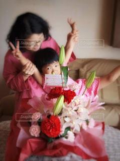 母の日と誕生日の写真・画像素材[3239126]
