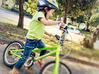 僕の自転車の写真・画像素材[3246548]