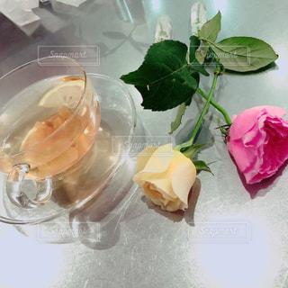 飲み物,花,バラ,可愛い,お洒落,tea