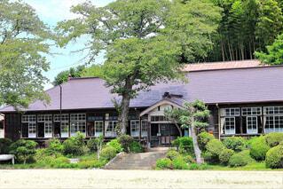 木造校舎の写真・画像素材[4623278]