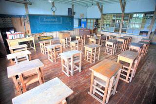 木造校舎 教室の写真・画像素材[4623331]
