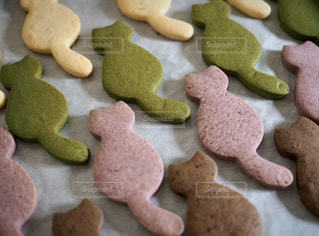 食べ物,スイーツ,クッキー,たくさん,おいしい,手作り,手作りクッキー,ココアクッキー,可愛いクッキー,プレーンクッキー,紅芋クッキー,猫クッキー