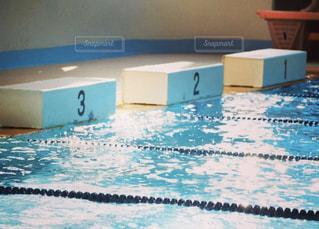 屋内,プール,水面,泳ぐ,水泳,スイミング,水泳部,競泳,スイミング プール