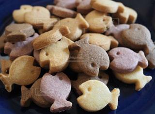 手作りお魚クッキーの写真・画像素材[3206367]