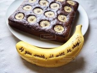 食べ物,デザート,チョコレート,ブラウニー,banana,バナナ,DOLE,バナペン,チョコレートバナナブラウニー