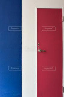 建物,屋外,赤,白,カラフル,青,ドア,フランス,ペイント,建築,France,塗装