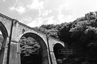 川に石の橋の写真・画像素材[822336]