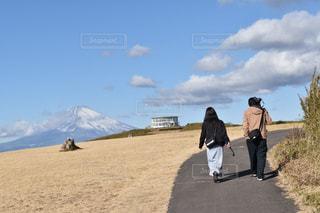 アウトドア,富士山,カップル,休日,一眼,お出かけ