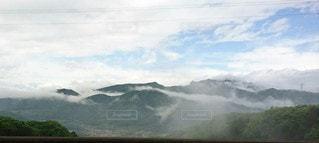 自然,風景,空,屋外,雲,霧,山,高原,新潟松代