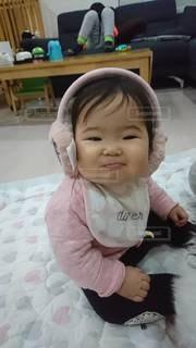 かわいい,笑顔,赤ちゃん,微笑む