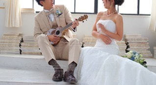 Wedding songの写真・画像素材[3220839]