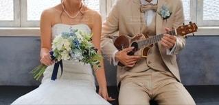 Wedding songの写真・画像素材[3220846]