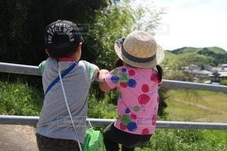 夏休みの冒険の写真・画像素材[3235053]