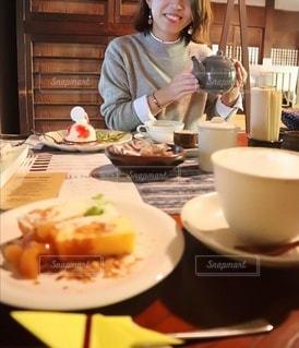 カフェ時間の写真・画像素材[3253231]