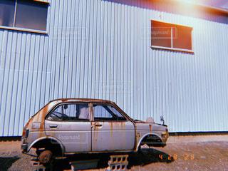 ヴィンテージカーの写真・画像素材[3190404]