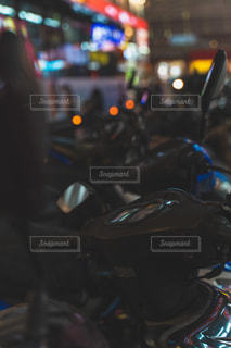 夜,夜景,バイク,台湾,台北,交通,原付