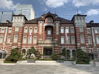 建物,東京駅,都会,駅舎,アーキテクチャ,煉瓦造り