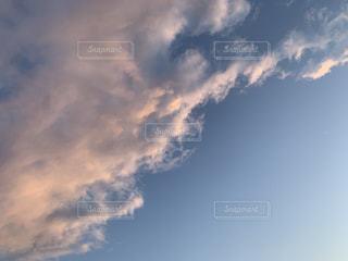 風景,空,雲,青,景色,夕陽