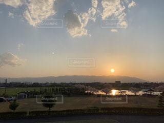 自然,風景,空,屋外,雲,夕暮れ,景色,夕陽