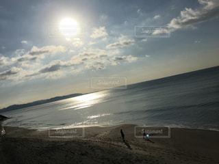 自然,風景,海,空,太陽,ビーチ,砂浜,水面,海岸,景色