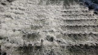 川の流れの写真・画像素材[3341394]