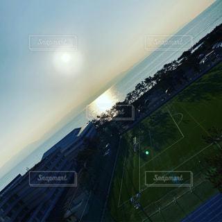 空,屋外,太陽,サッカー,クラウド