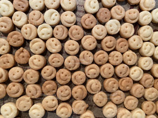 スマイル,笑顔,お菓子,クッキー,可愛い,たくさん,料理,手作り