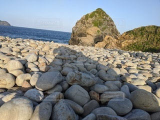 自然,海,屋外,ビーチ,石,奄美,浜,ゴロゴロ,ホノホシ海岸,げんこつ大の石