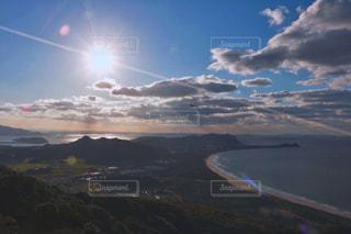 山のビューの写真・画像素材[1405407]